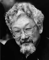 Portrait of David Suzuki