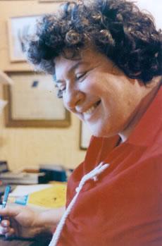 Portrait of Yvette Eastman