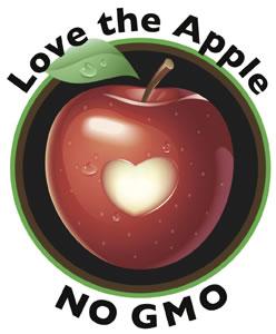 Love the Apple No GMO