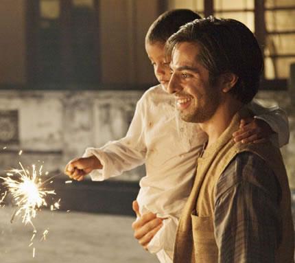 A scene from the movie Midnight Children