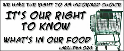 Label GMO Foods