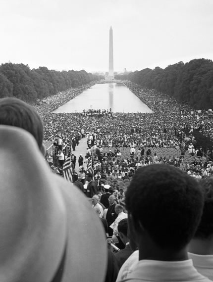 Civil rights march in Washington, D.C 1963
