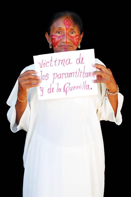 Message from a Wayúu woman