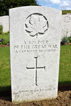 Canadian War Grave