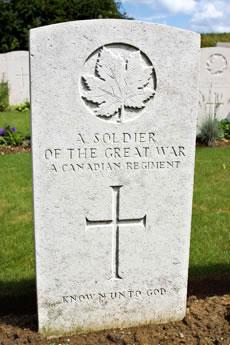 Canadian War Grave