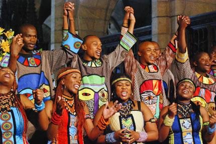 Soweto Gospel Choir Members When The Soweto Gospel Choir