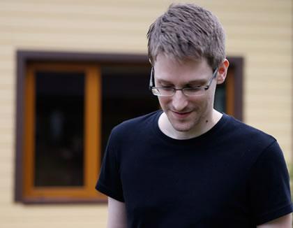 Edward Snowden in Citizenfour