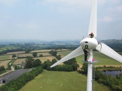 wind turbine by Surrey-based Endurance Wind Power