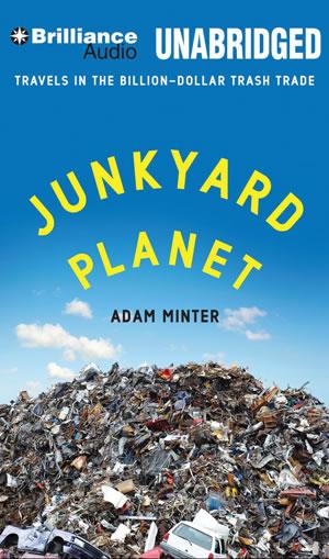 Junkyard Planer by Adam Minter book cover