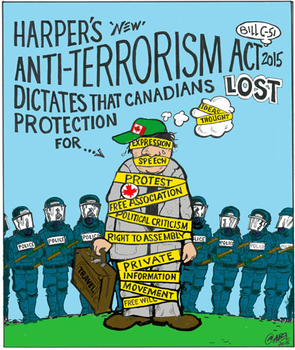 Image result for canadian anti terror act