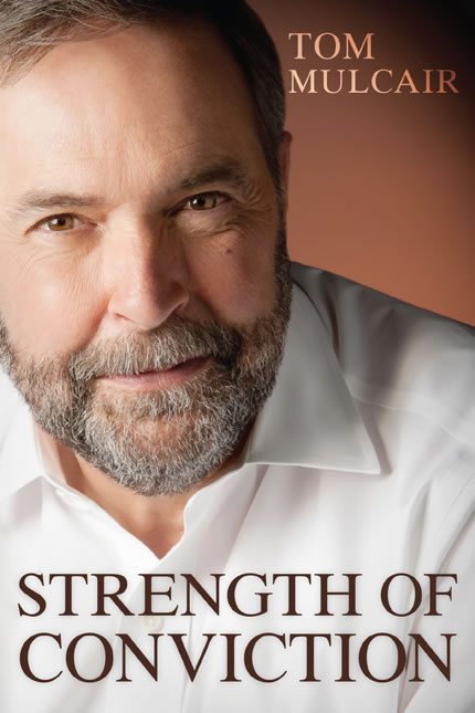Mulcair's Strength Conviction book cover