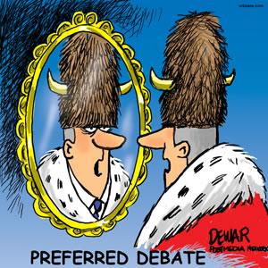 Preferred debate