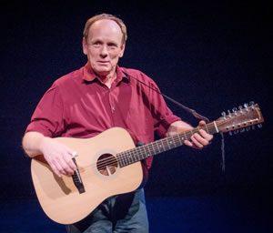 Mark Hellman with guitar