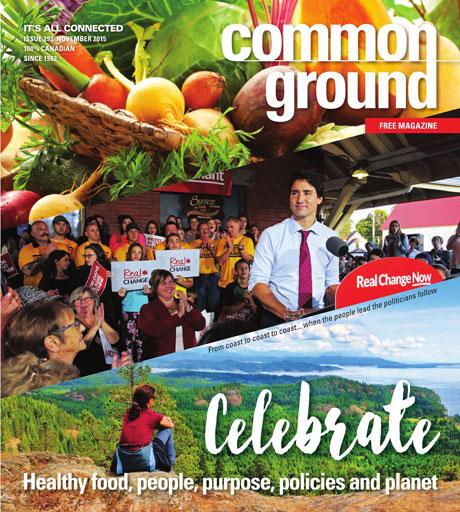 Common Ground Magazine November 2015 cover