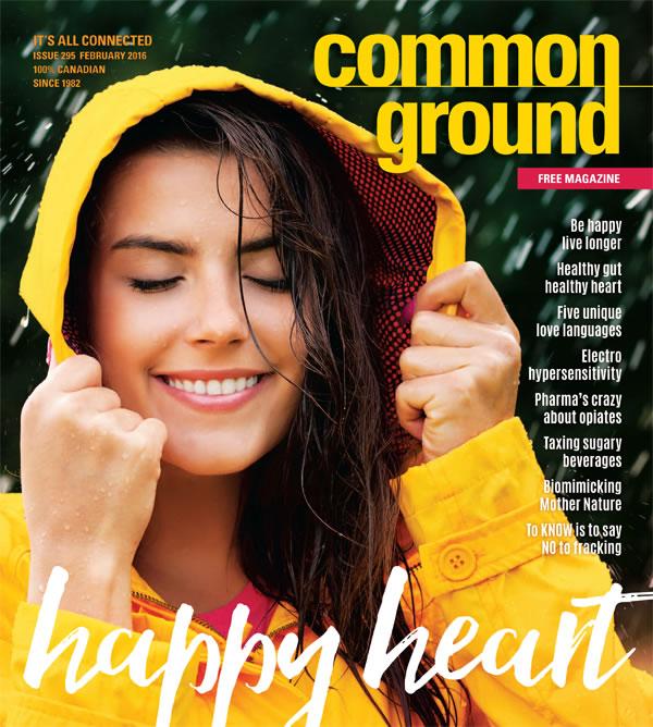 Common Ground Magazine February 2016 cover