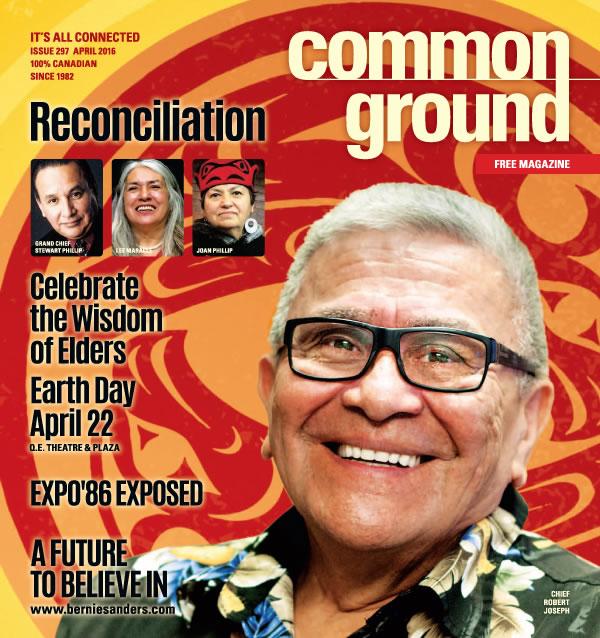 Common Ground Magazine April 2016 cover