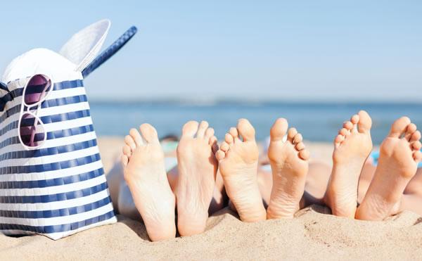 beach feets
