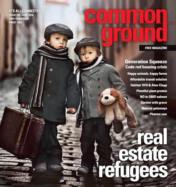 Common Ground Magazine June 2016 cover
