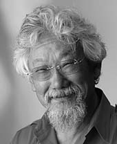 portrait of David Suzuki