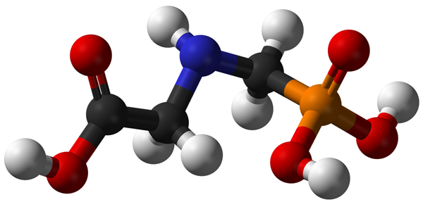 glyphosate-molecule