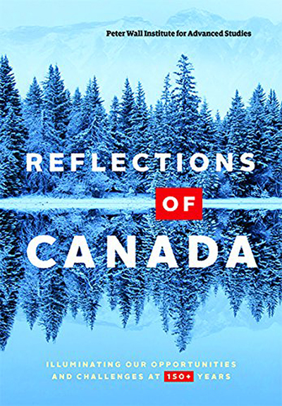 Refelections of Canada book cover