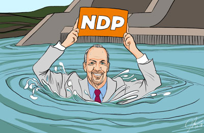 NDP in deep