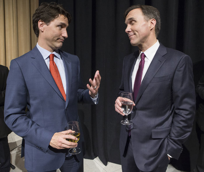 Trudeau and Morneau