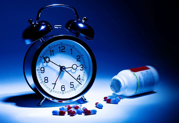 alarm clock sleeping pills