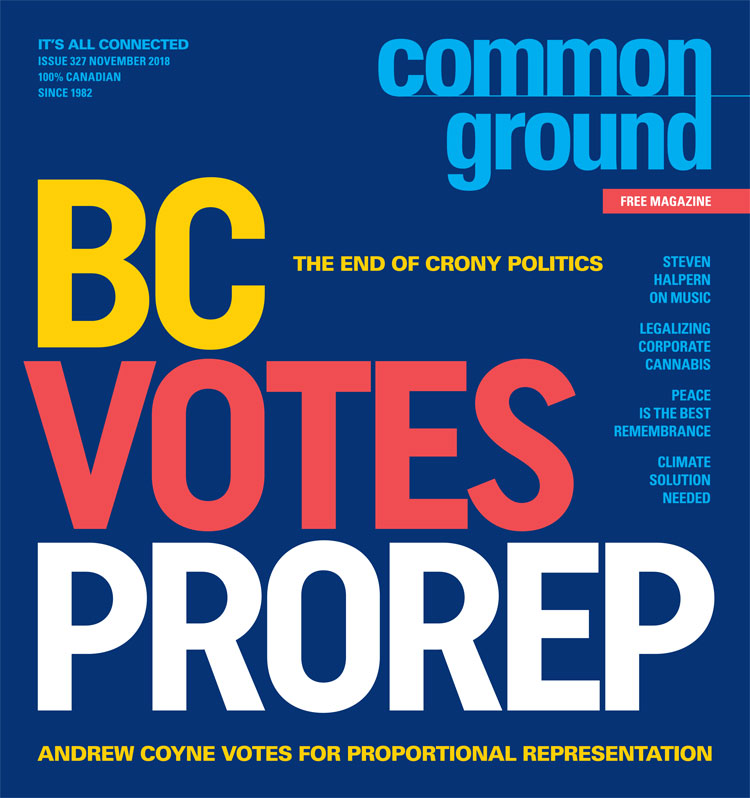 Common Ground front cover November