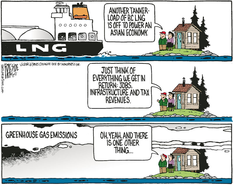 Raeside LNG cartoon