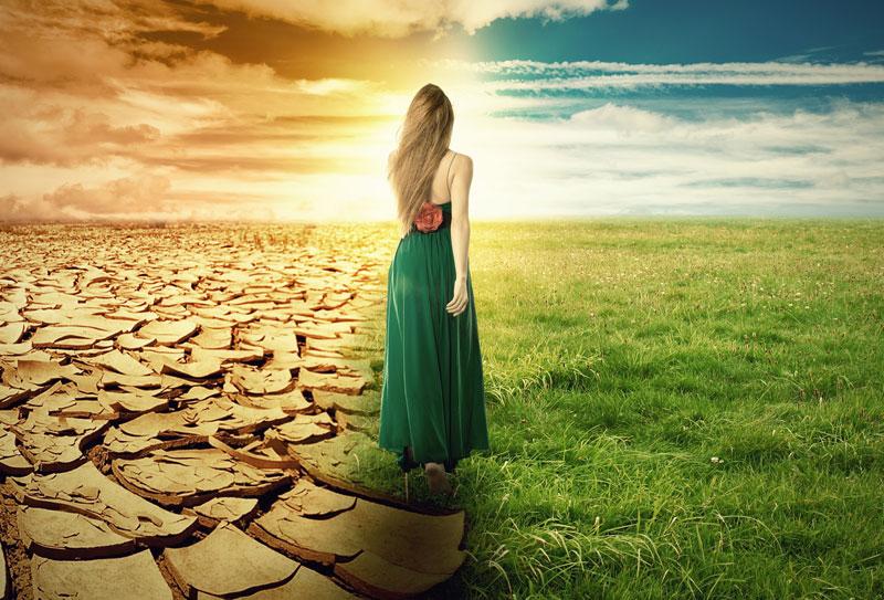 between catastrophe and redemption