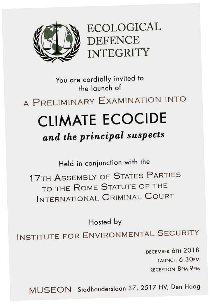 ecocide invite