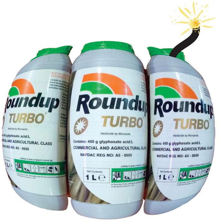 Monsanto bomb