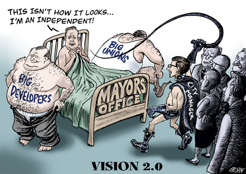 Vision 2.0 cartoon by Geoff Olson