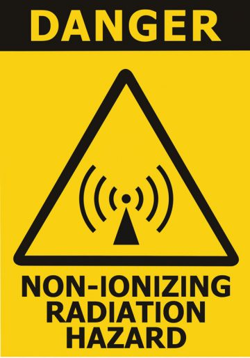 non-ionizing radiation hazard