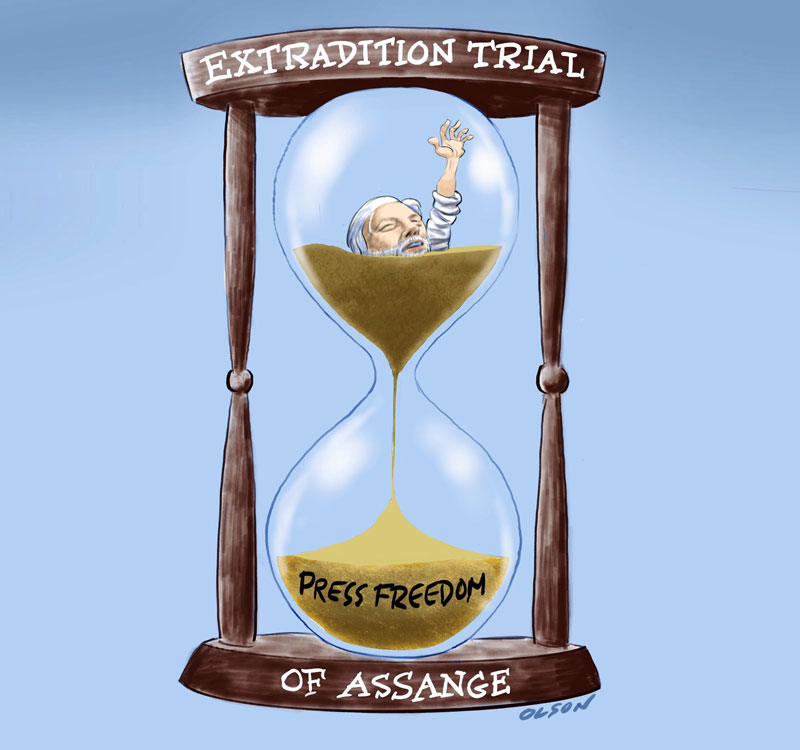 Julian Assange's Extradition Hearings