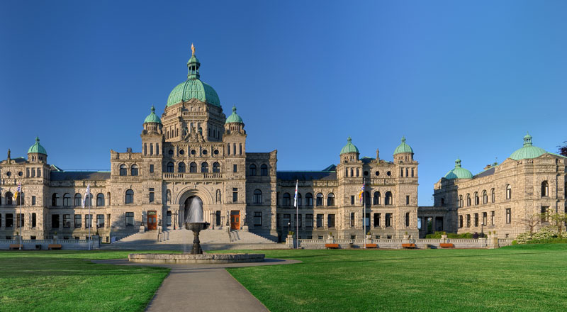 BC parliament buildings photo by Ryan Bushby
