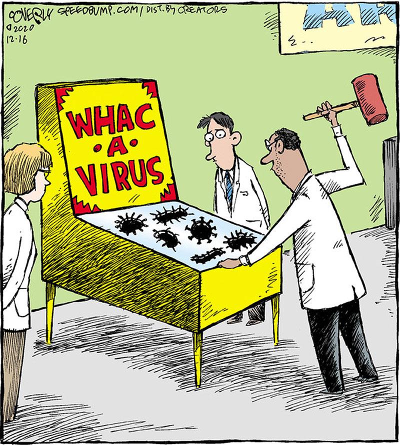 Whack a virus